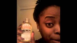 KELOID!!! On nose ring experimental treatment with Tea Tree Oil