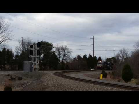 NS 12R light power for Manassas Yard including UP Tier 4 unit trailing - January 27, 2017