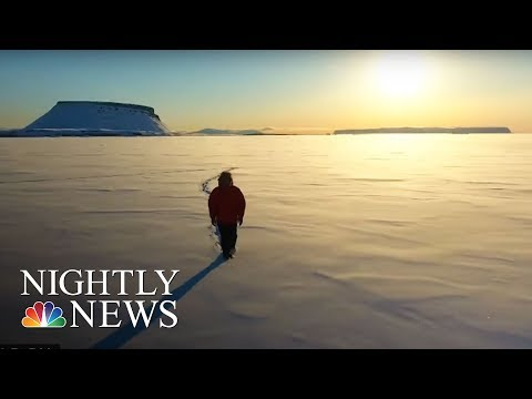NASA Tracks Greenland Glaciers To Understand Climate Change | NBC Nightly News