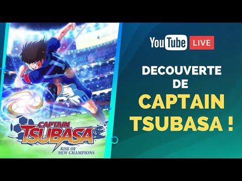 DÉCOUVERTE EN LIVE de CAPTAIN TSUBASA Rise of New Champions !