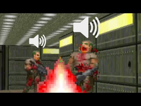 Doom, but the sounds are text to speech (DOWNLOAD)
