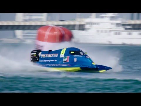 U.I.M World Championship (F1H2O) in Dubai
