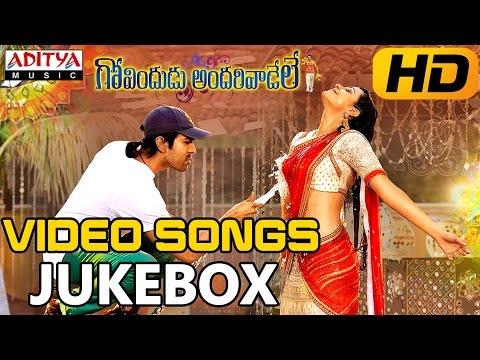 Govindudu Andarivaadele Full Video Songs    Jukebox    Ram Charan Teja, Kajal Agarwa