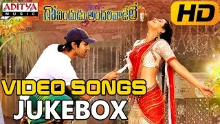 Govindudu Andarivaadele Full Video Songs  Jukebox  Ram Charan Teja, Kajal Agarwa