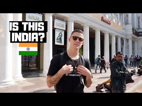 First Time In CONNAUGHT PLACE! Experiencing a Different Side of Delhi, India!