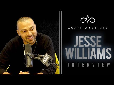 Jesse Williams Talks Black Panther Phenom, Oscars + Fergie Mess