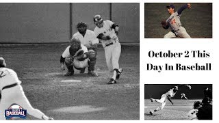"Bucky ""Bleeping"" Dent. This Day In Baseball Oct 2nd"