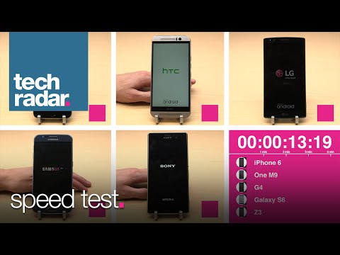 5 Top Phones Compete In Our Speed Test