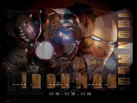 Canciones de Iron Man 1, Iron Man 2 y Iron Man 3