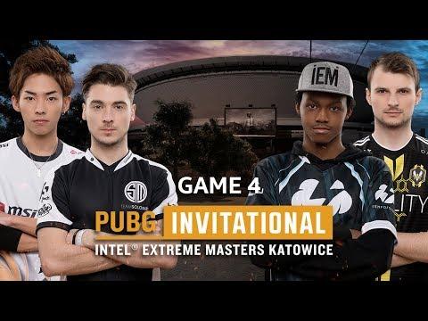 IEM PUBG Invitational Katowice 2018 Game 4