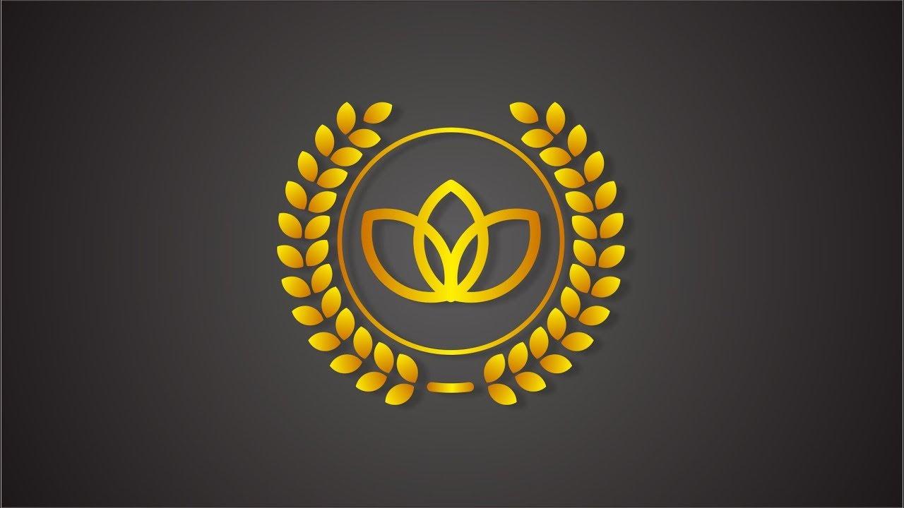 Laurel Wreath  Logo Design