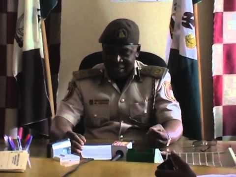 Nigerian Immigration Patrol Team Arrest Human Traffickers