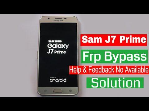 Samsung J7 Prime Frp Bypass | No TalkBack |No Computer 2020