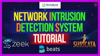 Network Intrusion Detection System (NIDS) Project Tutorial | Suricata & Zeek Tutorial | Filebeat