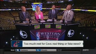 NBA Countdown: Too Much Rest For Cavaliers?   May 16, 2017