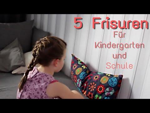 26 schnelle Frisuren für Kindergarten und Schule | Mrs ...
