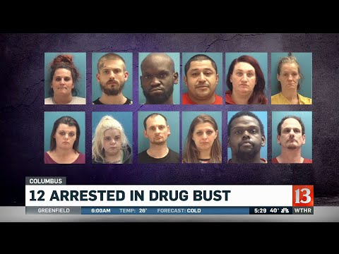 12 Arrested In Columbus Drug Bust