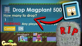 DROP GAME i got scammed..😢 || Growtopia PRANKSTER #02