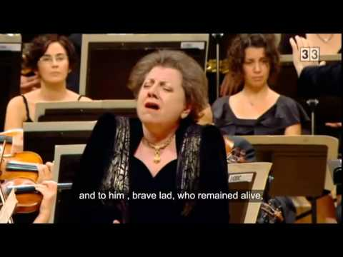 Prokofiev, The Field of the Dead, Ewa Podleś, contralto (subtitles)