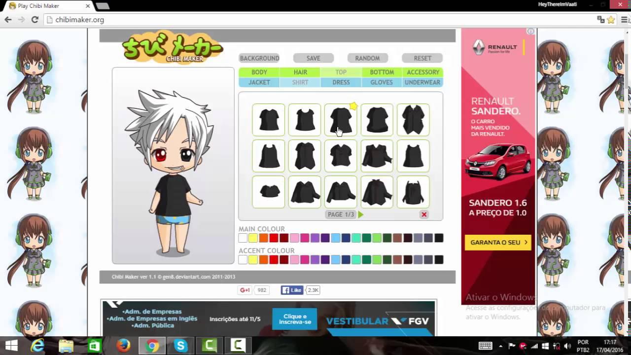 Como Fazer O Kaneki No Chibi Maker Chibi Friend Youtube
