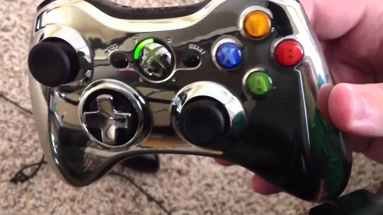 Xbox 360 Chrome Series Controller ReviewComparisonXbox 360 Controller Chrome Series