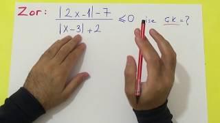 Mutlak Değer Kolaydan Zora - şenol Hoca Şenol Hoca Matematik