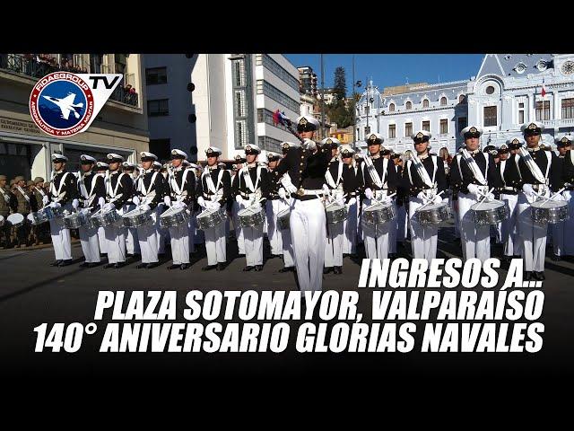 21 de mayo 2019: INGRESOS A PLAZA SOTOMAYOR, 140 aniversario Glorias Navales P 1/4