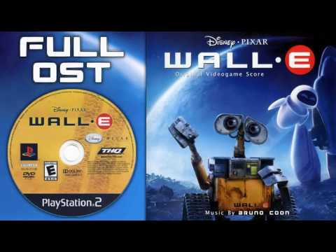 WALL•E The Video Game Music - Full Soundtrack (Complete OST)