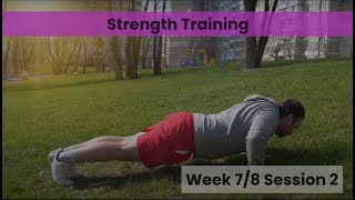 Strength - Week 7&8 Session 2 (mHealth)