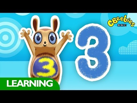 CBeebies: Numtums - Number 3 Song