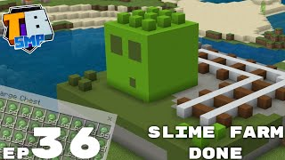 SIMPLE SLIME FARM IS FINISHED! - Truly Bedrock Season 2 Episode 36