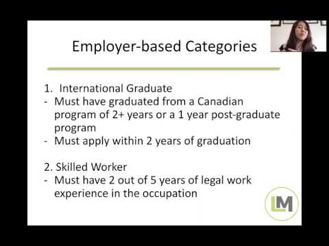 The New Employer-Based and Skilled Trades OINP