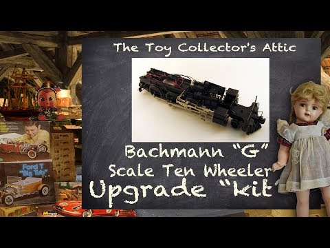 "Upgrade ""kit"" for the model Train that Changed the World – Bachmann's G scale 4-6-0"