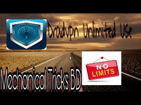How To Hack 100 Mb Limit Of Droidvpn And Use Free Unlimited Download Bangla Tutorial