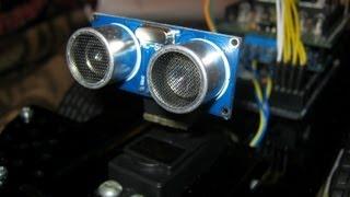 Ведроид-мобиль — робот на Arduino. Подключаем ультразвуковой дальномер
