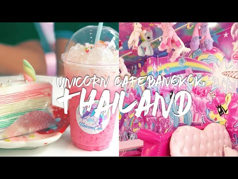 UNICORN CAFE 🦄💕 | Bangkok, Thailand