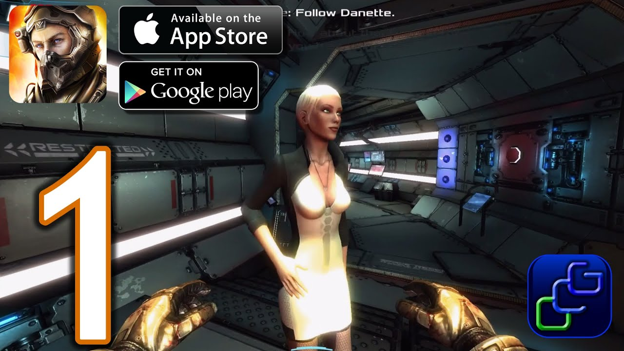Dead Effect 2 Android iOS Walkthrough – Gameplay Part 1 – Chapter 1: Cyber Awakening