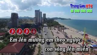Karaoke Em về làm dâu núi rừng - Thu Hoàng Full Beat