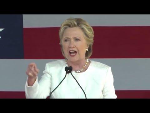FULL SPEECH: Hillary Clinton, Alicia Machado at Dade City, Florida Rally