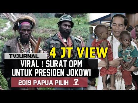 download VIRAL ! Surat OPM untuk Jokowi , Rahasia Suara Papua 2019 Pilih ...