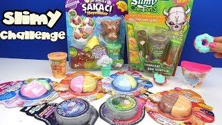 Slimy Koleksiyonu Slimy Sürpriz Challenge Slimy den Hamburger Squishy Yaptım Bidünya Oyuncak