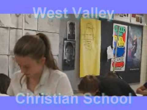 WVCS Art Class, Art curriculum, Kindergarten through hig school, West Hills CA