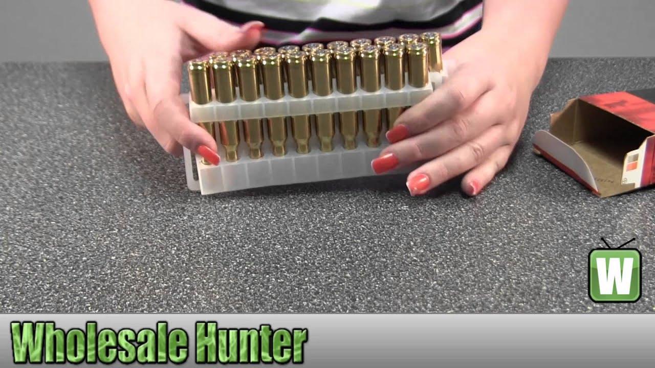 Federal Cartridge 7mm Remington Magnum 165Gr Sierra GameKing P7RE  Ammunition Unboxing