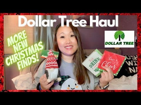 🌲 DOLLAR TREE HAUL | MORE NEW CHRISTMAS FINDS! | OCTOBER 2020