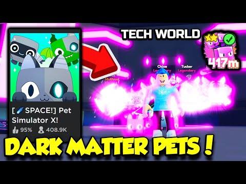 The TECH WORLD UPDATE Is HERE In Pet Simulator X And IT'S INSANE!! (Roblox)