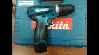 Makita DF330 - восстановление аккумуляторов в шуруповёрте.