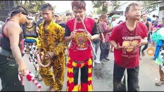 "Rampak barong cover music""konco turu"", pawai grebek suro."