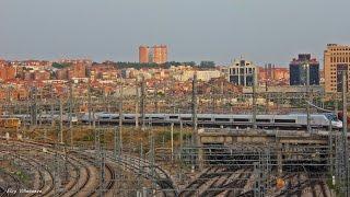 Trenes variados Renfe en Madrid: AVE, Alvia, mercancías, cercanías y más thumbnail