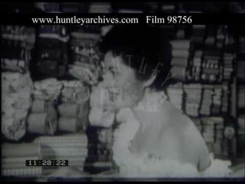 Shopping In Caracas Venezuela, 1950s - Film 98756