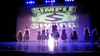 vuclip XB GenSan (Extreme Boyz Gensan) 2/2 @ Battle at the Street '12 [HD]